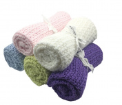Kpblis ®Best Knitting Blanket Just for Baby Kids Blue