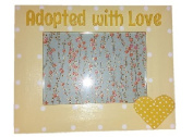 Adopted With Love Adoption Picture Frame