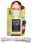 Door Buddy Baby Proof Door Lock with Adjustable Strap. No Need for Baby Gate. Child Proof Room with Litter Box while Cats Enter Easily. Instals in Seconds and is Simple & Convenient to Use.