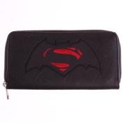 DC Comics Batman Vs. Superman Dawn Of Justice Logo Zip Wallet