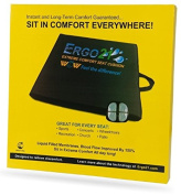Ergo21 Liquicell Sports Cushion. Gel, Foam, and Air! Liquid-Filled Membranes. Blood Flow Improved by 150%