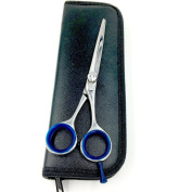 Deluxe Beard & Moustache Scissors - Tempered Stainless Steel with Tension Adjuster -- Carrying Case Included ** NEW FOR SUMMER 2016 **