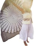 Kemilove Beach Rectangle Cover Up Bikini Boho Summer Dress Swimwear Bathing Suit Kimono Tunic