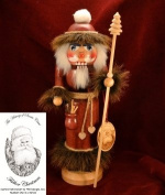 Ginger Cottages Father Christmas Nutcracker (Santa Series #1) NUTS101