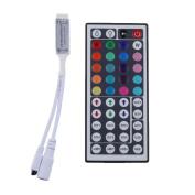 LEDlights 44 Keys Mini Ir Remote Controller for 3528 & 5050 RGB LED Strip Lights