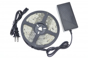 LEDlights 5M 5050 with chip multi-coloured lights with a chip built-in programmes to control the lamp with variable cargo, diverse, 12V 5A power supply