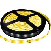 SMD2835 Flexible Strip LED Lights Waterproof 5M DC12V 60pcs Decoration Lighting Light for Xmas Home lighting and Kitchen Yellow Strip Light