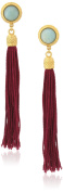 Ben-Amun Jewellery Silk Road Tassel Clip-On Earrings
