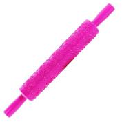 Embossed Rolling Pin, KierHunter® Cake Paste Gum Sugarcraft Decorating Tool, Rose Heart