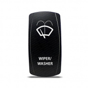 CH4X4 Marine Rocker Switch Wiper/Washer Symbol