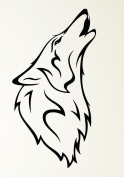 Beast Wolf Moon Howling Werewolf Fangs Rubber Stamps custom stamps rubber