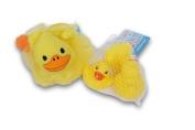Duck Themed Bath Bundle - Bath Pouffe and Mini Rubber Ducks