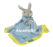 Personalised Goodnight Moon Bunny Snuggle Blanky Blanket - 43cm
