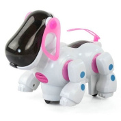 Katoot@ Electronic Walking Pet Robot Dog Puppy Kids Children Toy Gift With Music Light