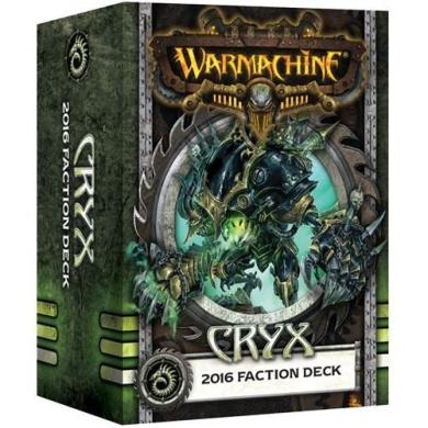 Warmachine Cryx: Faction Deck (Mk III)