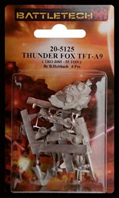 BATTLETECH 20-5125 THUNDER FOX TFT-A9 MECH