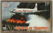 Minicraft 1:144 Conair DC-6B Firebomber Plastic Aircraft Model Kit #14533