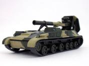 2S4 Tyulpan / Tulpan Soviet Self-Propelled Mortar 1/72 Scale Diecast Model
