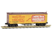 Micro-Trains MTL N-Scale 11m Wood Reefer Car Nestle Baby Ruth Series #7