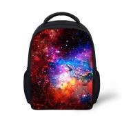 HUGSIDEA Galaxy Child Backpack Baby School Book Bags