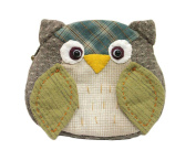 Owl Purse Easy Sewing Project Fun Craft Kits Do It Yourself Craft Package Finished Size 13cm 11cm
