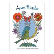Avian Friends Coloring Postcards