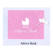 Baby Love Pink Girl Keepsake Registry & Advice Book Baby Shower