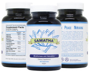SAMATHA - Vegan Stress Relief & Anti Anxiety Supplement for Mood, Relaxation, Calming, Reducing Panic Attacks & Promoting a Positive Mindset