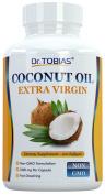 Dr. Tobias Organic Coconut Oil Extra Virgin 1000mg 100 Softgels