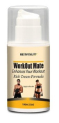 BestVitality - Fat Burning Cream- WorkOut Mate Enhances Your Workout -Rich Cream Formula -90ml With Coconut Oil. Paraben-Free And Never Tested On Animals