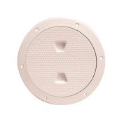 Beckson 15cm Non-Skid Screw-Out Deck Plate-Beige