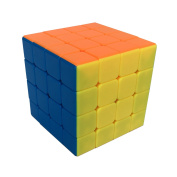 DOLAIMI Smooth Magic Cube 3 Pack 2x2 3x3 4x4 Speed Rubik's Cube Stickerless Colourful Puzzles Toy; Suitable For Beginner and Professional player;Gift For Both Kids and Adults