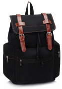 Ladies Girl's Quality Backpack Rucksack Women's Fashion Celebrity Faux Leather School Bags Handbag CWS00443