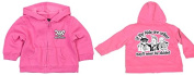 Racker-n-Roll Baby Girls' Track Jacket Pink Pink