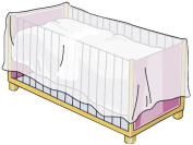 Mosquito Net for Bed Slats