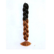 Instylehair Ombre Synthetic Hair Braiding Straight Kanekalon Synthetic Hair Extension 100g 60cm 1Piece/lot