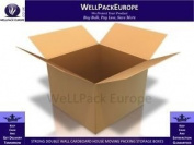 """50 x STRONG DOUBLE WALL CARDBOARD CARTON BOXES 60cm x 46cm x 18"""" - *** NEXT DAY DELIVERY ***"""