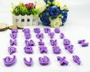 36pcs Alphabet Number Letter Fondant Icing Cutter Mould Mould Cake Decorating Set
