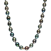 14kt Yellow Gold Necklace with Tahitian Pearls