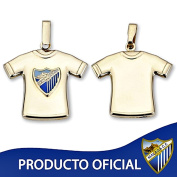 Málaga CF shirt hanging shield law 9k gold stamped [8738GR] - RECORDING INCLUDED IN PRICE