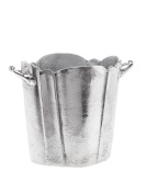 Bottle cooler - wine and champagne ice bucket chiller - antique style - 25cm