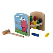 Small Foot Design 5726 Peanuts Hammer Bench