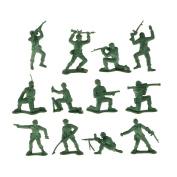 12pc/set Plastic Soldier Figures Simulation Decoration Kids Toys