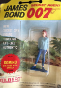Vintage 1965 James Bond Secret Agent 007 Domino She Lives With Danger Action Figure Number 9 As Played By Claudine Auger In Thunderball By A.C Gilbert & Co New On Card