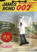 Vintage 1965 James Bond Secret Agent 007 Dr. No With Poison Val Action Figure Number 10 As Played By Joseph Wiseman in Dr. No By A.C Gilbert & Co New On Card