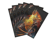 "Dragon Shield ""Dragon of the Lava Mountains"" Wizard's Choice Picture Standard Sleeves Pack"