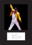 Freddie Mercury #2 Signed Mounted Photo A5 Print