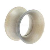 Kaos Silicone Skin Eyelet - Metallic Silver 10mm