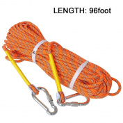 LUOOV 10M(32ft) 20M(64ft) 30M (98ft) 50M (160ft) Climbing Rope,Rock Climbing Rope,Static Rope,Diameter Climbing Rope