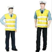 Bachmann 22-145 Police & Security Staff Pack 3